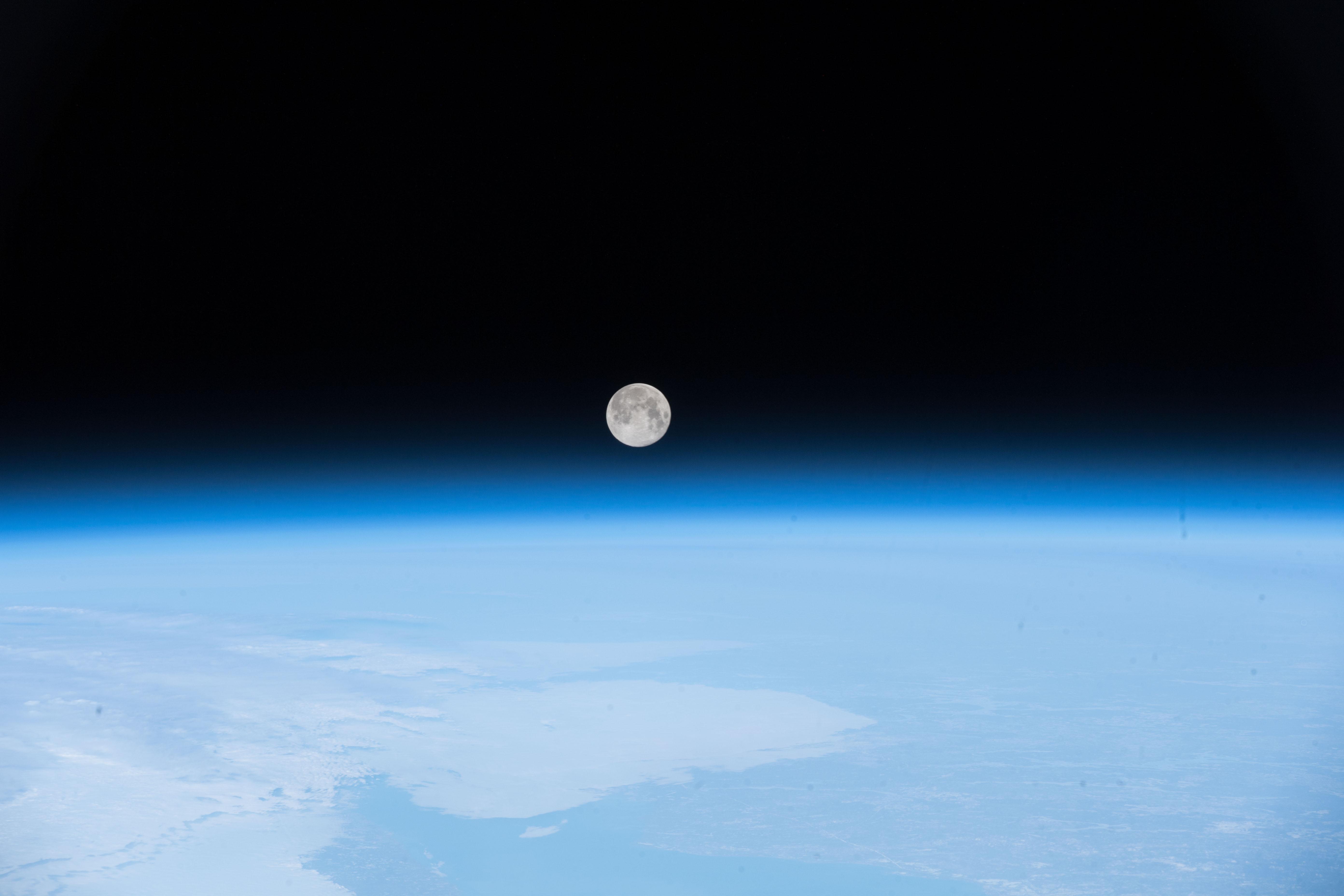 The Rotating Moon