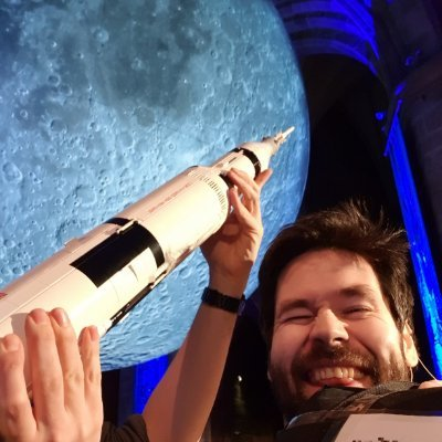 We're going to the Moon Apollo-style. I'll bring the Lego…